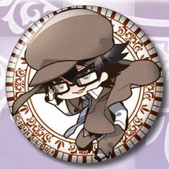 "Kimetto! Can Badge Collection ""Bungo Stray Dogs (Edogawa Ranpo)"" by F.Heart"