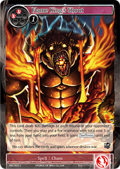 SKL-025 C - Flame King's Shout