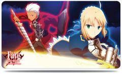 """Play Mat """"Fate/stay night (Archer & Saber)"""" by Ultra PRO"""