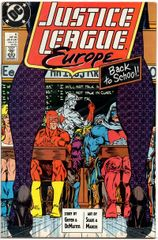 Justice League Europe #6 (1989) by DC Comics