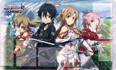 """Weiss Schwarz Rubber Mat """"Sword Art Online"""" by Bushiroad"""