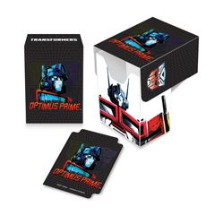 "Deck Box ""Transformers (Optimus)"" by Ultra PRO"