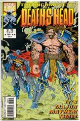 The Incomplete Death's Head #7 (1993) by Marvel UK