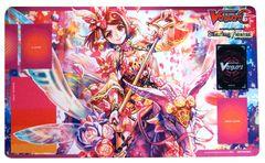 "Cardfight Vanguard G Rubber Mat ""Flower Princess of Spring's Beginning, Primavera"" by Bushiroad"