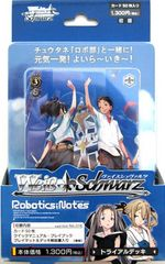 "Weiss Schwarz Japanese Trial Deck ""Robotics; Notes"" by Bushiroad"
