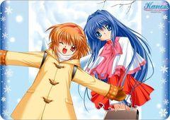 "Character Universal Rubber Mat ""Kanon (Ayu & Nayuki)"" by Broccoli"