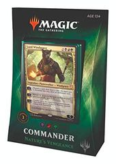 "Magic the Gathering Commander ""Nature's Vengeance"""