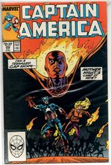Captain America #356 (1989) by Marvel Comics