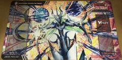 "Cardfight Vanguard G Rubber Mat ""Rondeau of Chaos and Salvation (Genesis Dragon, Harmonics Neo Messiah) by Bushiroad"