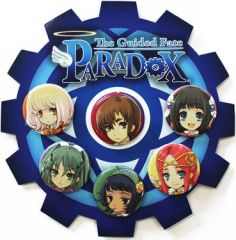 "The Guided Fate Paradox Pin Set ""Lanael, Renya, Lilliel, Kuroiel, NelieL, Cheriel"""