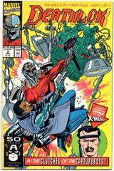 Deathlok #2 (1991) by Marvel Comics