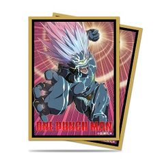 """Deck Protector Sleeves Standard Size """"One Punch Man (Boros)"""" by Ultra PRO"""