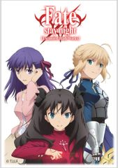 "Deck Protector Sleeves Small Size ""Fate/stay night (Heroines)"" by Ultra PRO"