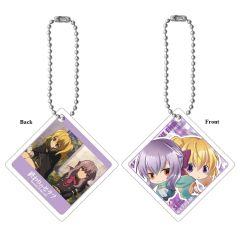 "Acrylic Mascot Key Chain ""Seraph of the End (Shinoa Hiiragi & Mitsuba Sangu)"" by Union Creative International"