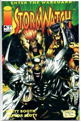 Stormwatch #4 (1993) by Image Comics