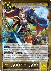 TAT-004 SR Foil - Grimm, the Avenger of Fairy Tales
