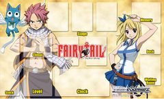 """Weiss Schwarz Fabric Mat Collection """"Fairy Tail"""" by Bushiroad"""