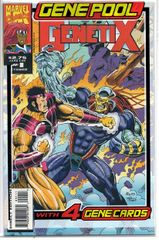 Genetix #3 (1993) by Marvel UK Comics