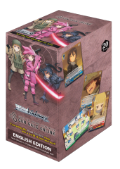 "Weiss Schwarz Japanese Booster Box ""Sword Art Online Alternative: Gun Gale Online"" by Bushiroad"