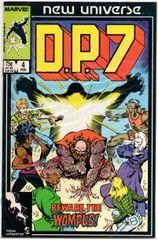 D.P.7 #4 (1987) by Marvel Comics