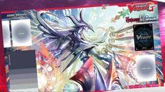 "Cardfight Vanguard G Rubber Mat ""Genesis Dragon, Amnesty Messiah"" by Bushiroad"