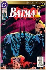 Batman #493 (1993) by DC Comics