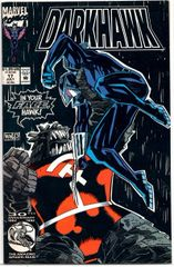Darkhawk #17 (1992) by Marvel Comics