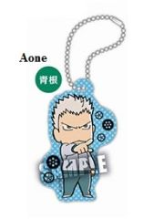 "Acrylic Scenes Key Chain ""Haikyuu!! Second Season (Aone Takanobu)"" by Takara Tomy A.R.T.S"