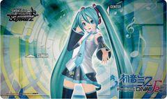 "Weiss Schwarz Rubber Mat ""Hatsune Miku Project DIVA F 2nd"" by Bushiroad"