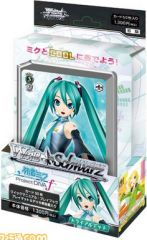 "Weiss Schwarz Japanese Trial Deck ""Hatsune Miku Project DIVA f"" by Bushiroad"