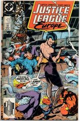 Justice League Europe #4 (1989) by DC Comics