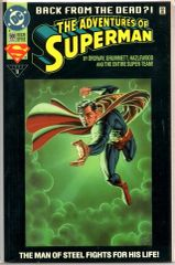 The Adventures of Superman #500 (1993) by DC Comics