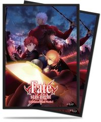 """Deck Protector Sleeves Standard Size """"Fate Stay Night -Unlimited Blade Works-"""" by Ultra PRO"""