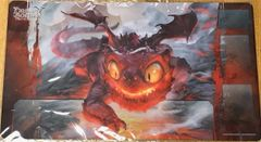 """DragoBorne Rubber Playmat """"Gears of Apocalypse (Galeras, Moltenscale Whelp)"""" by Bushiroad"""