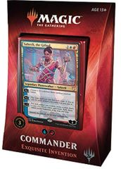 "Magic the Gathering Commander ""Exquisite Invention"""