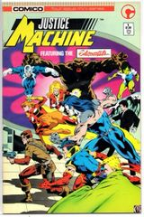 Justice Machine: Featuring the Elementals #1 (1986) by Comico