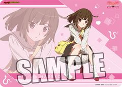 "Character Universal Rubber Mat ""<Monogatari> Series Second Season (Sengoku Nadeko)"" by Broccoli"