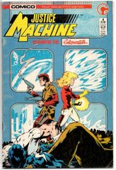 Justice Machine: Featuring the Elementals #4 (1986) by Comico