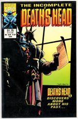 The Incomplete Death's Head #6 (1993) by Marvel UK