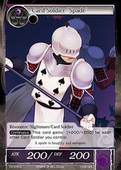 "TAT-075 C - Card Soldier ""Spade"""