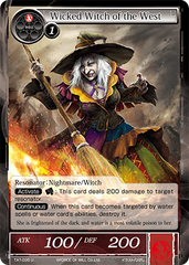 TAT-035 U - Wicked Witch of the West