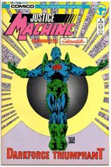 Justice Machine: Featuring the Elementals #3 (1986) by Comico