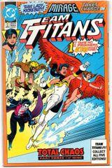 Team Titans #1b (1992) by DC Comics