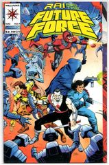 Rai and the Future Force #9 (1993) by Valiant