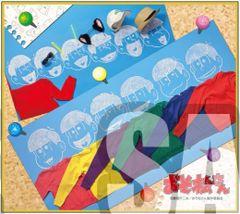 """Mini Shikishi Art Collection """"Osomatsu-san (Hoodie Sweater)"""" by Bushiroad Music"""