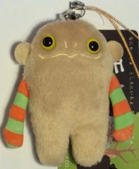 "Mokeke Strap Monster ""Nota"" BE by Shinada"