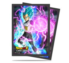 """Deck Protector Sleeves Standard Size """"Dragon Ball Super (God Charge Vegeta)"""" by Ultra PRO"""