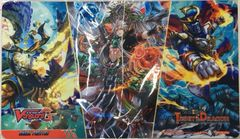 """Cardfight!! Vanguard G Rubber Mat """"We Are Trinity Dragon"""" by Bushiroad"""