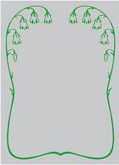 "Character Sleeve Protector [Sekai no Monyou: Patterns of the World] ""Campanula Punctata"" by Broccoli"