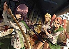 "A3 Clear Desk Mat ""Highschool of the Dead (School)"" by Broccoli"